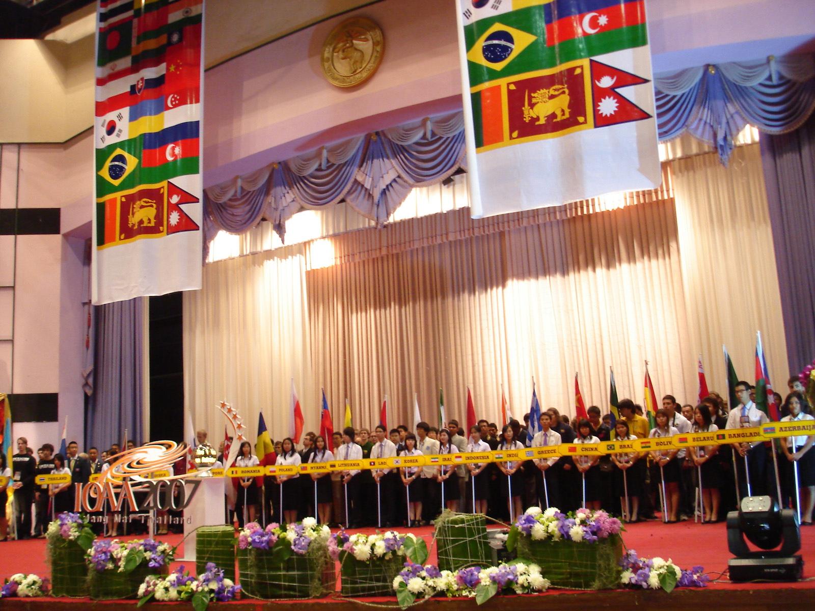 IOAA 2007 opening Ceremony